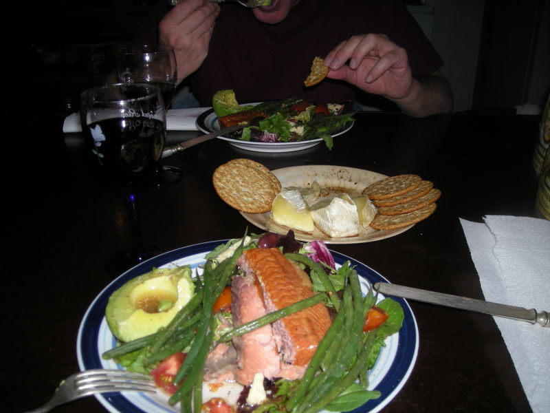 Dinnerinthecabin